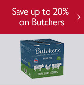 Save up to 20% on Butchers