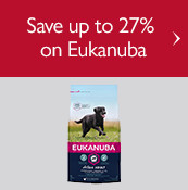 Save up to 27% on Eukanuba