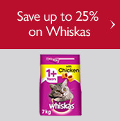 Save up to 25% on Whiskas