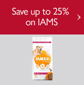 Save up to 25% on IAMS