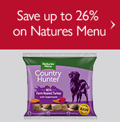 Save up to 26% on Natures Menu