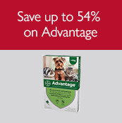 Save up to 54% on Advantage
