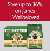 Save up to 36% on James Wellbeloved