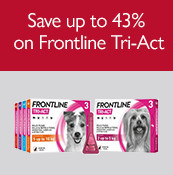 Save up to 43% on Frontline Tri-Act