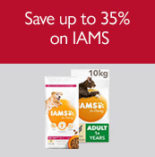 Save up to 35% on IAMS