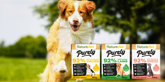 Save up to 24% on Naturediet's Purely range