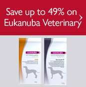 Save up to 49% on Eukanuba Veterinary