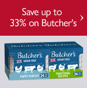 Save up to 33% on Butcher's