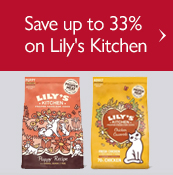 Save up to 33% on Lily's Kitchen