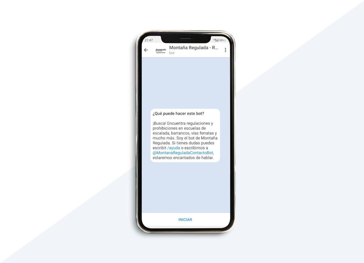 Bot de Montaña Regulada en Telegram