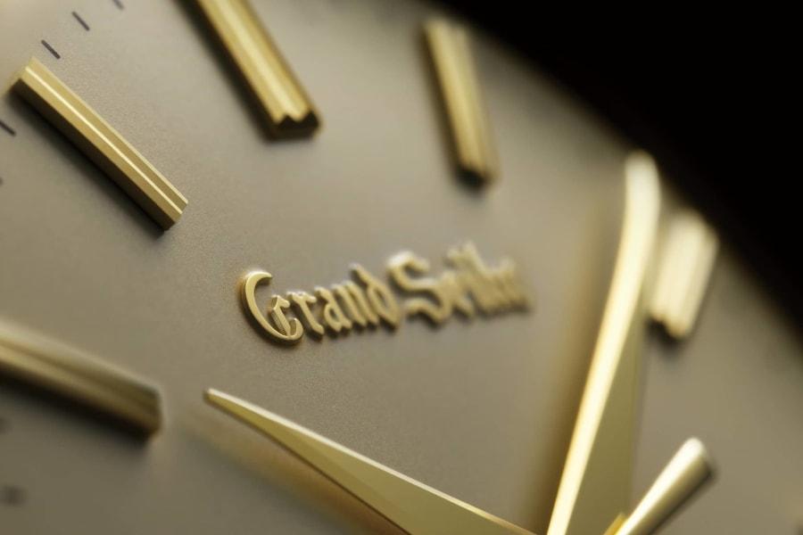 SBGW258 dial detail