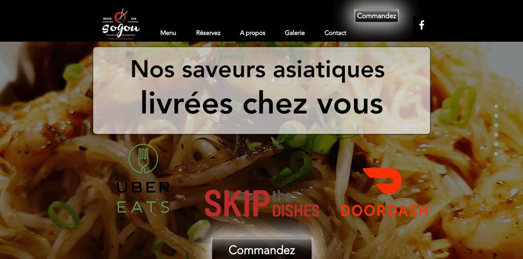 Restaurant Sogou à Laval