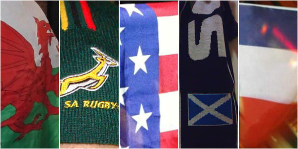 Rugby World Cup colours