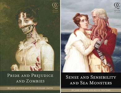 Pride and Prejudice and Zombies, Sense and Sensibility and Sea Monsters