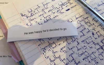 Thumbnail for 'He was happy he'd decided to go'