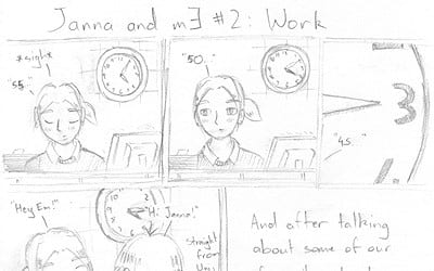 Thumbnail for 'Janna And mE 2: Work'