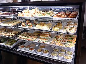 Cafe food cabinet