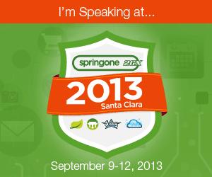 SpringOne 2GX 2013 banner