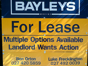 Landlord Wants Action real estate sign