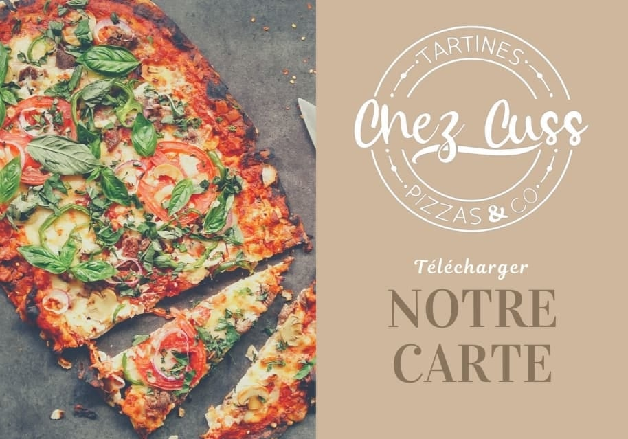 Notre Carte Pizzeria Chez Cuss