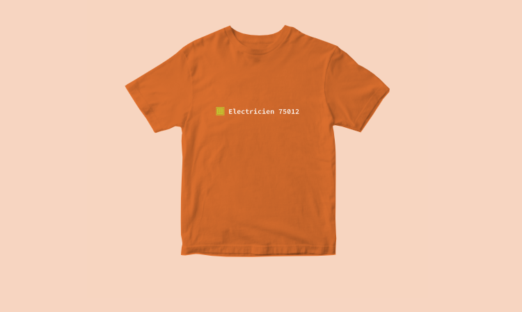 Le T-Shirt du Blog
