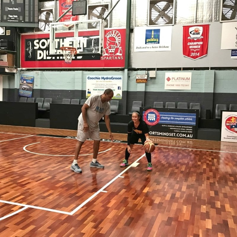 Brisbane Basketball Training & Coaching - Sidney Mines