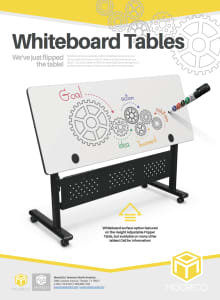 Download Whiteboard Flipper Table Flyer