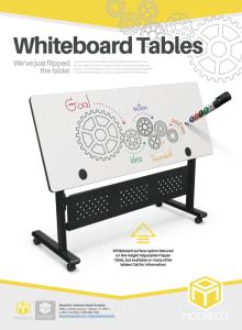 Download Whiteboard Flipper Table Flyer