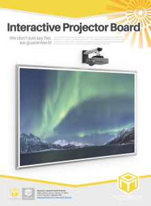 Download Interactive Projector Board Flyer