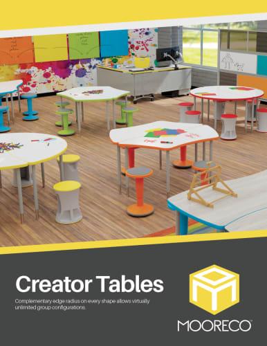 Download Creator Table Flyer