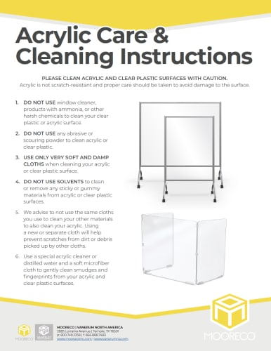 Download Acrylic Care & Cleaning