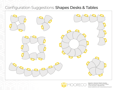 Download Shapes Desk Configurations