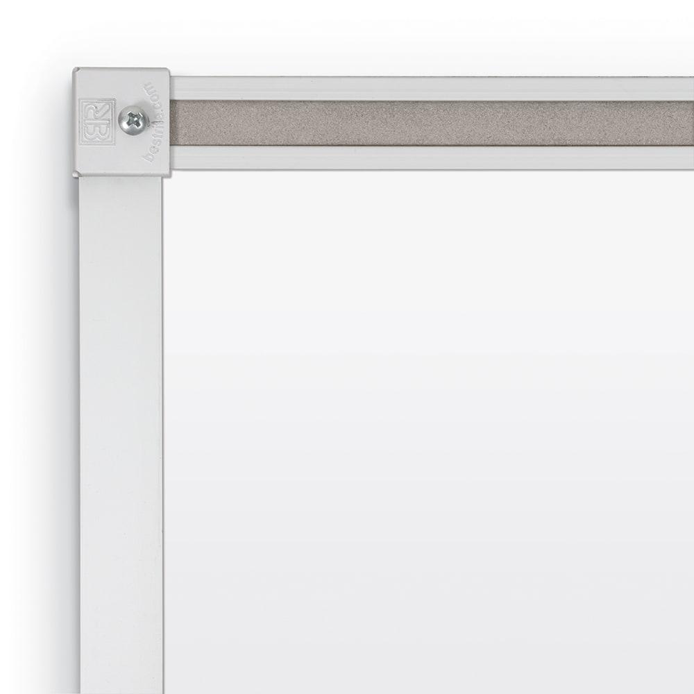Dura-Rite Whiteboard with Deluxe Aluminum Trim