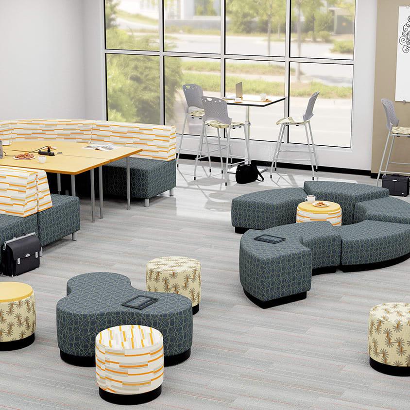 Superb Soft Seating Stools Ottomans Mooreco Inc Uwap Interior Chair Design Uwaporg