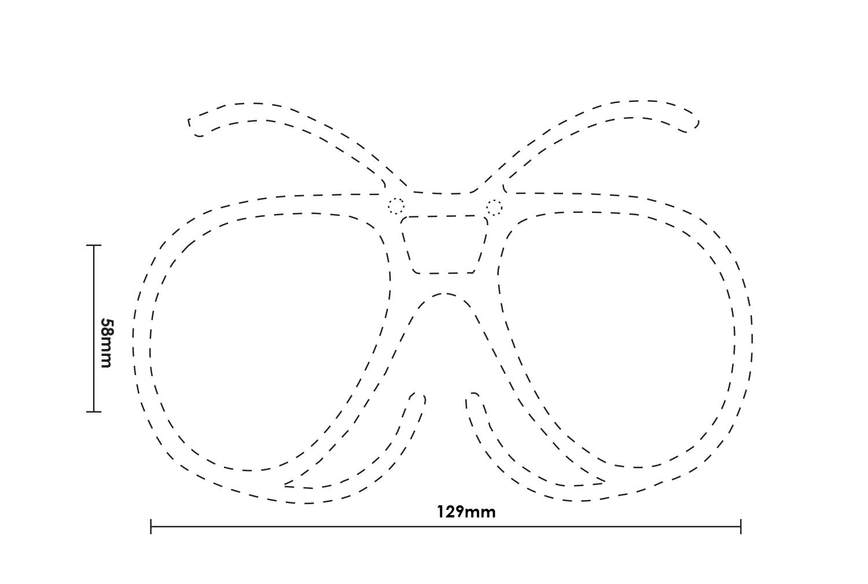 OPTIMASK - Clip pour Masque de ski à la vue
