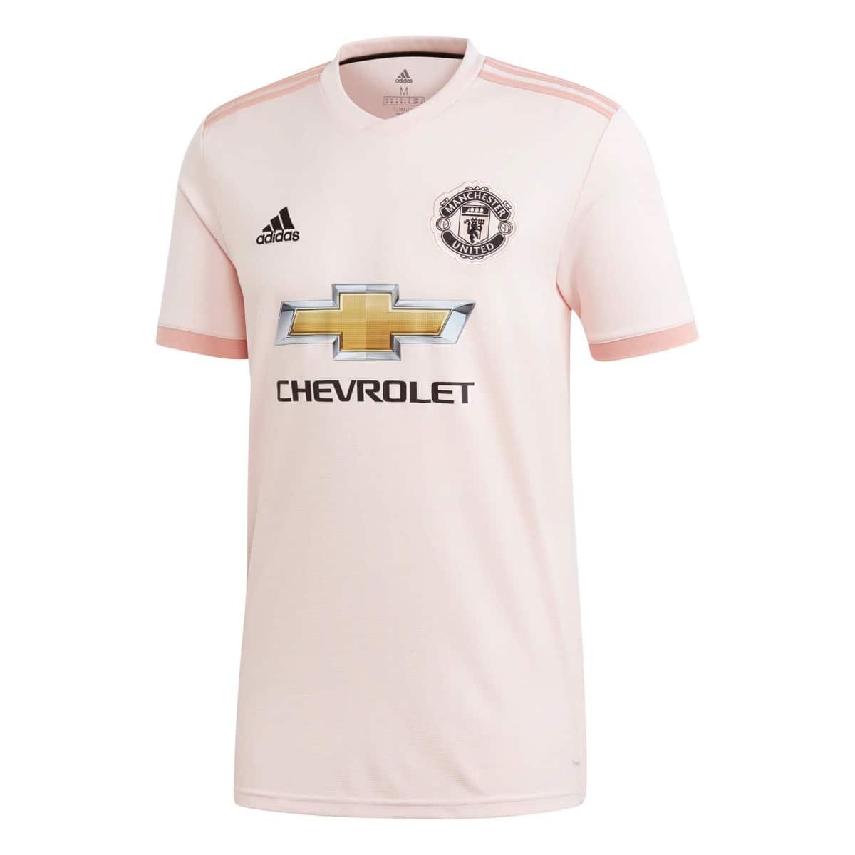Adidas Manchester United Men s Away Jersey 2018 2019 34daa6626