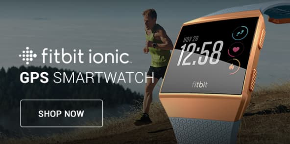 Fitbit Ionic GPS Smartwatch