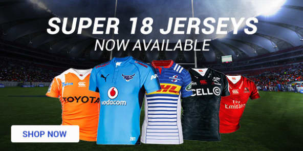 Super 18 Jerseys