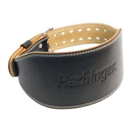 HomeFitnessWeight TrainingStraps & Accessories Harbinger Men's Leather Weight Belt. Vitality Badge. Product Information