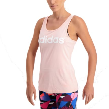 Product Information. adidas Women s Essential Linear Slim Tank. Features.  Fit. Loose Fit. Neckline. Crew. Moisture Control 000f43dab378a