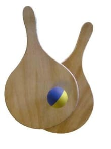 Headstart Solid Wood Beach Bat and Ball Set