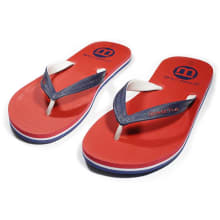 World Tribe Men's Double Trouble Red Sandals