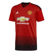 adidas Manchester United Junior Home Replica Jersey 2018/2019