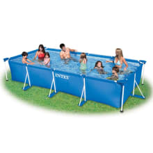 Intex Metal Frame Rectangular Pool 15' x 7' x 33""