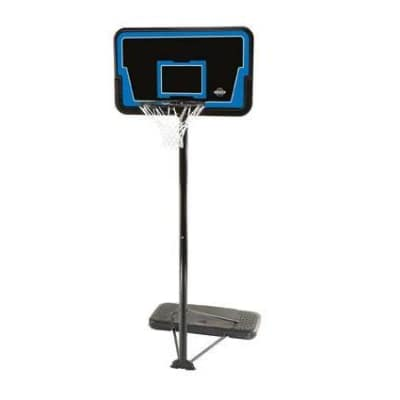"Lifetime 44"" Backboard, Pole & Base"