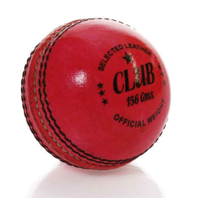 Head Start 156g Two Piece Pink Leather Cricket Ball