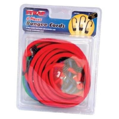 X-Strap 6 piece Bungee Cords Combination Set