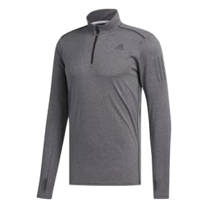 77e3efdc7a1 Adidas Men's Response 1/2 Zip Long Sleeve Top