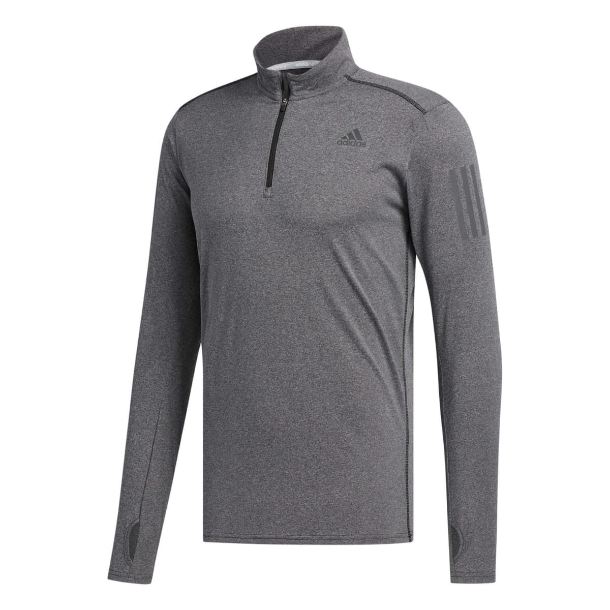 a947d73a012 Adidas Men's Response 1/2 Zip Long Sleeve Top
