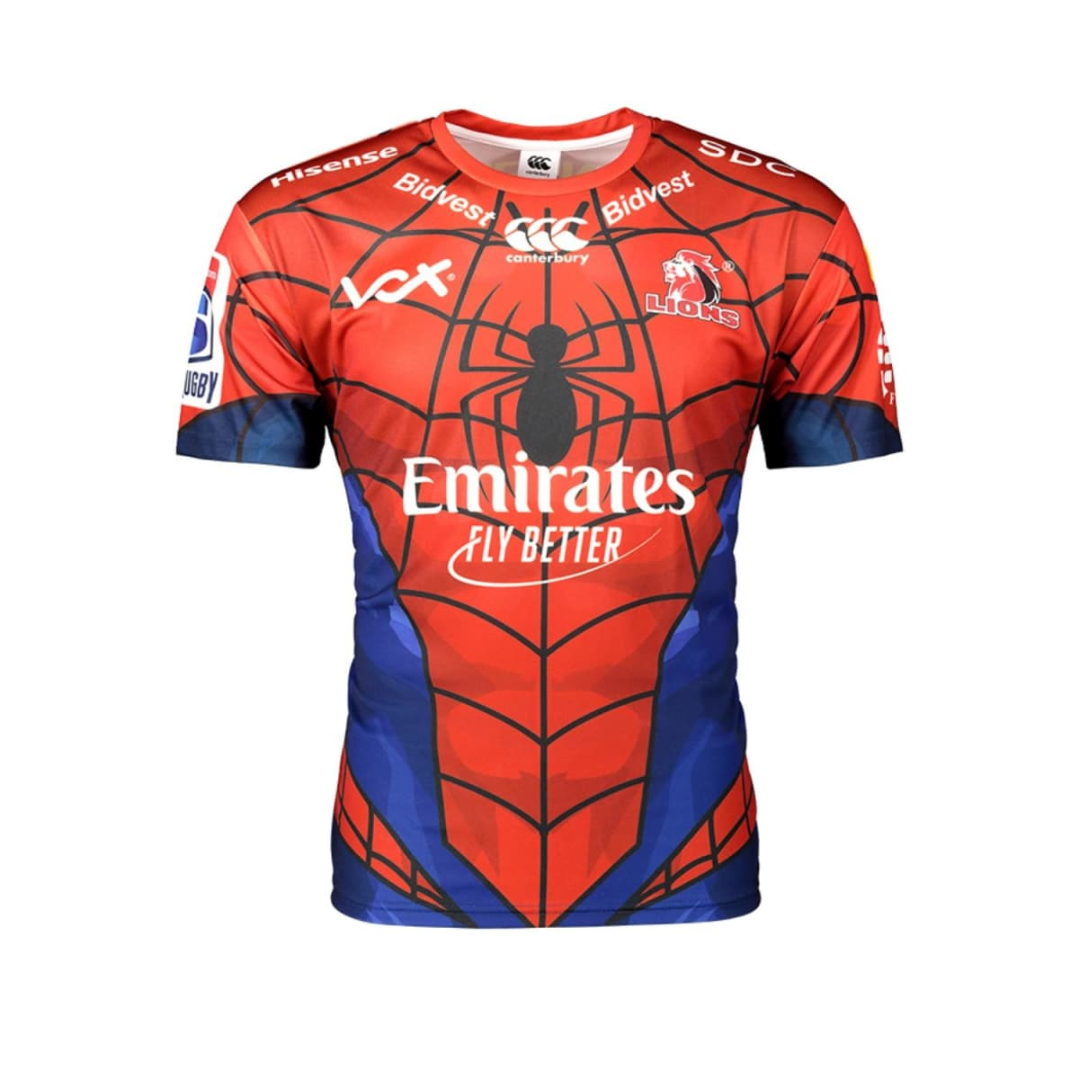 ffbfffc4848 Lions S Rugby Mens Home Fan Tee (Marvel) 2019